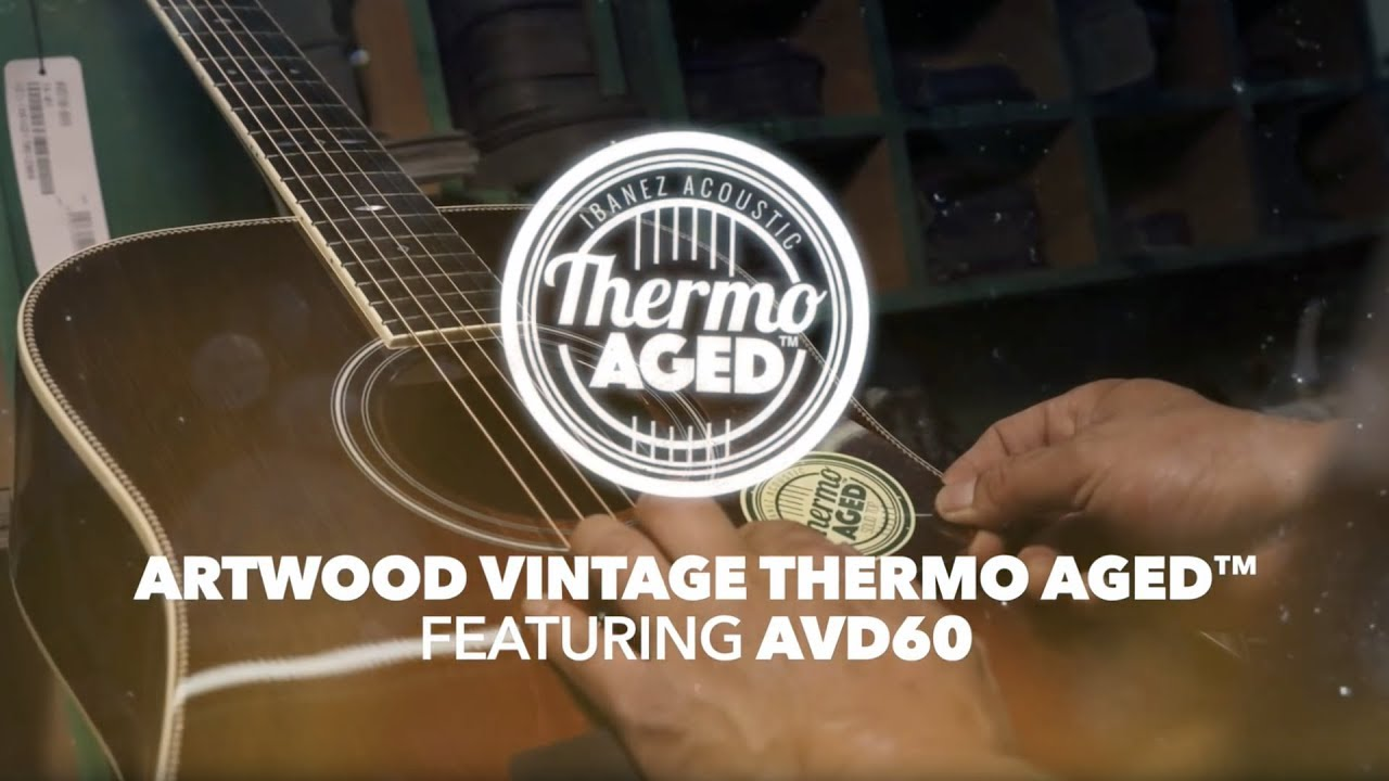 Ibanez Thermo Aged™ Acoustic Guitar – AVD60