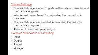 Brief History Of Technology