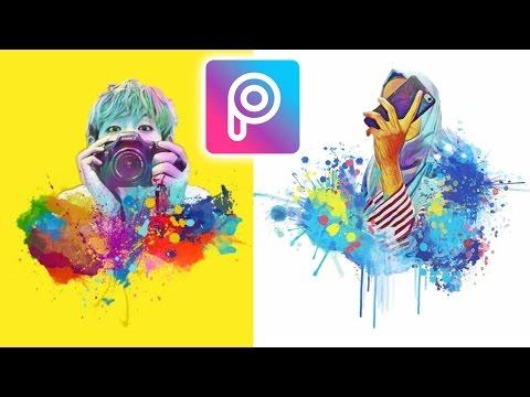 Cara Edit Magic Splash di Picsart Android dan iOS | Tutorial (видео)