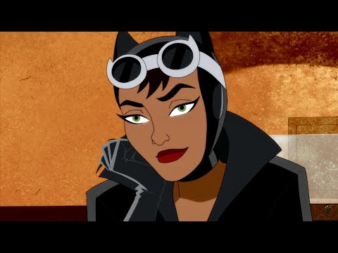Catwoman (Harley Quinn TV Show) scenes