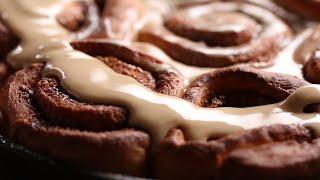 Pumpkin Spiced Latte Cinnamon Roll by Tasty