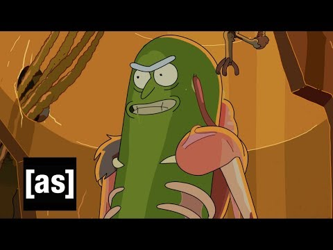 Design Sneak Peek: Pickle Rick | Rick and Morty | Adult Swim