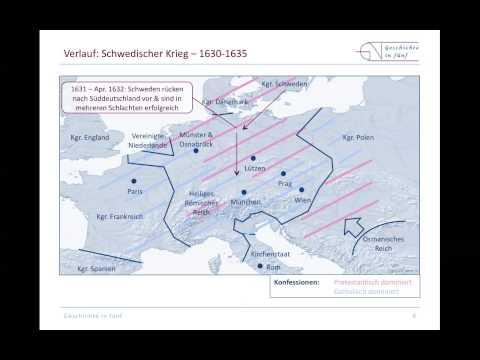 Der Dreißigjährige Krieg im Überblick (1618-1648)