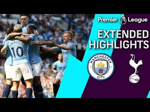 Man City V. Tottenham | PREMIER LEAGUE EXTENDED HIGHLIGHTS | 4/20/19 | NBC Sports