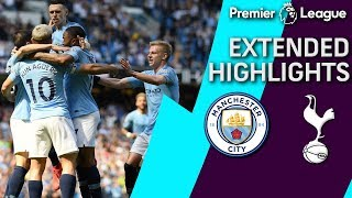 Man City v. Tottenham | PREMIER LEAGUE EXTENDED HIGHLIGHTS | 4/20/19 | NBC Sports