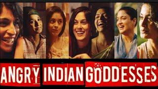 Angry Indian Goddesses Movie 2015   Sandhya Mridul  Sarah   Jane  Anushka   Full Promotional Events