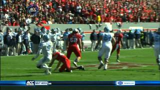 Audie Cole vs UNC (2011)