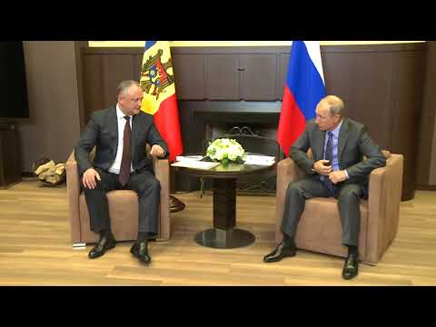 President of the Republic of Moldova Igor Dodon met today in Sochi with his Russian counterpart Vladimir Putin.