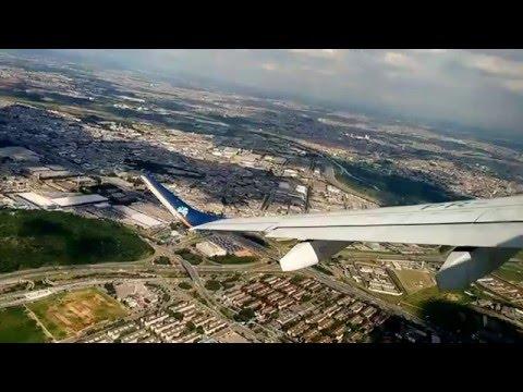 Decolagem (Take off) em Guarulhos (GRU) - Voo Azul - EB 195