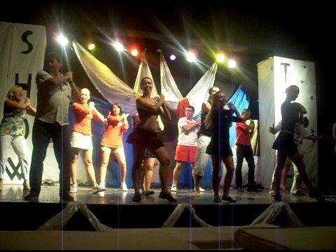 Show animation team - Jaz Mirabel Beach - September 2008