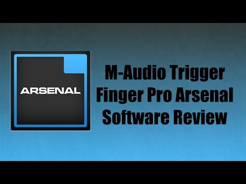 Trigger Finger Pro Arsenal Software Overview