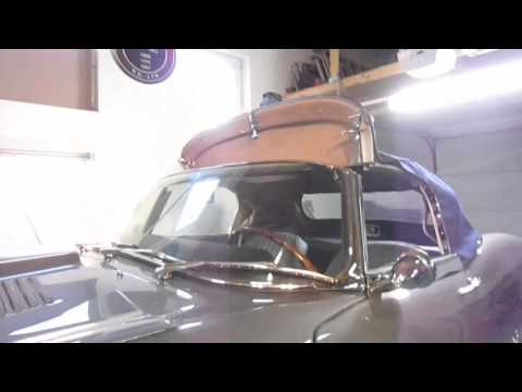 jaguar e type windscreen & hood perfect seal