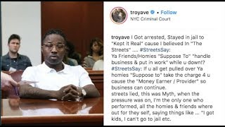 "Video Troy Ave Breaks Down On IG: ""I Have To Snitch, I'm Facing 40 YRS & My Homies Left Me Hanging"" MP3, 3GP, MP4, WEBM, AVI, FLV Agustus 2018"