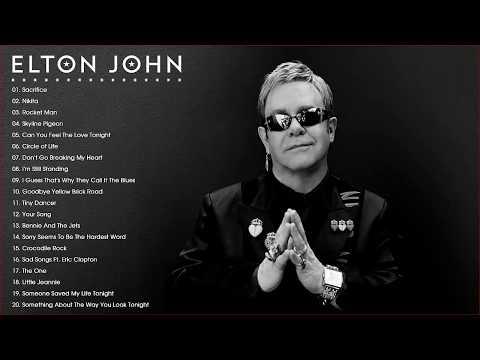 Elton John Best Song Playlist - Best Rock Ballads 80's, 90's | The Greatest Rock Ballads Of All Time