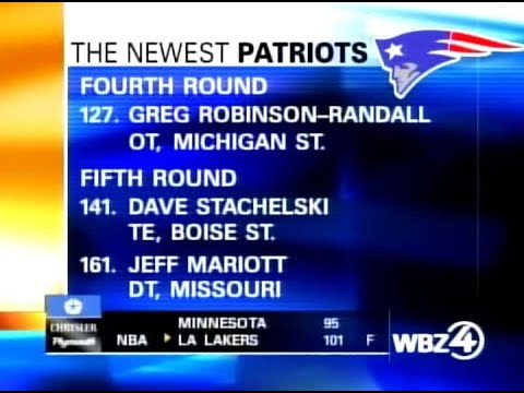WBZ Archives: Patriots Draft Tom Brady With 199th Pick