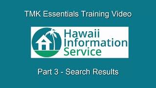 TMK Essentials (Part 3) - Search Results