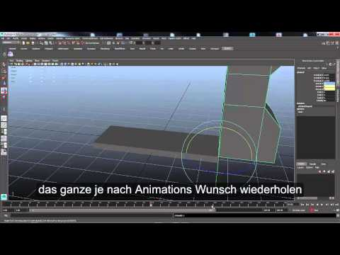 Autodesk Maya animation for export I3d v1.0