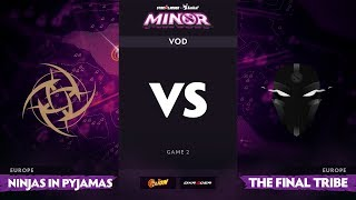 [RU] Ninjas in Pyjamas vs The Final Tribe, Game 2, StarLadder ImbaTV Minor S2 EU Qualifiers