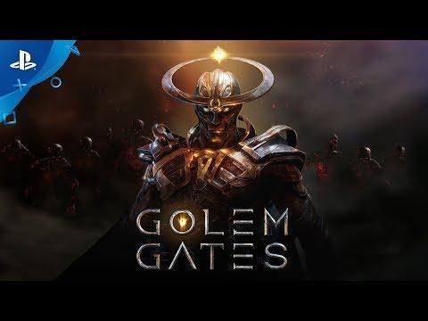 Golem Gates - Announce Trailer | PS4 - Thời lượng: 85 giây.