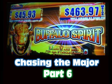 Buffalo Spirit Slot Machine MAX BET BIG WIN Chasing the Major FINALE
