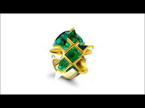 African Emerald jewelry images