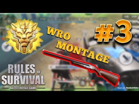 BEST OF WRO MONTAGE #3 - Rules Of Survival