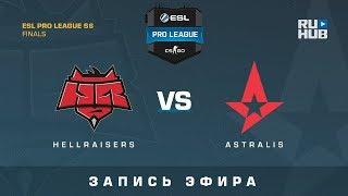 Hellraisers vs Astralis - ESL Pro League Finals - de_overpass [yXo, Enkanis]