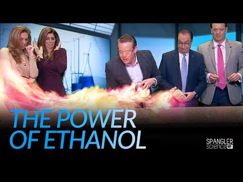 The Power of Ethanol - Clean Burning Fuel
