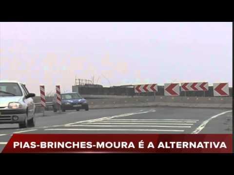 LIGAÇÃO PIAS-MOURA CORTADA AO TRÂNSITO