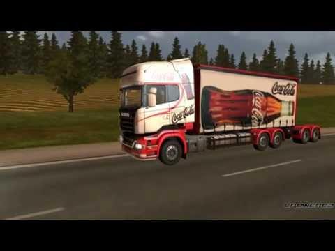 Scania Gigaliner Coca-Cola