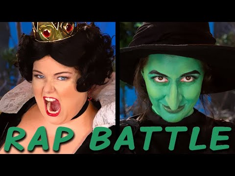 Queen of Hearts vs Wicked Witch: Princess Rap Battle