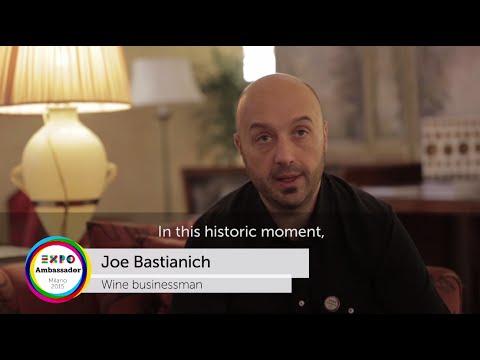 Ambassador Joe Bastianich (eng)