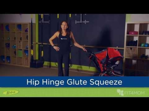 Hip Hinge Glute Squeeze - Stroller Strides