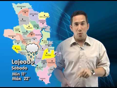 Vídeo Previsão do tempo fim de semana