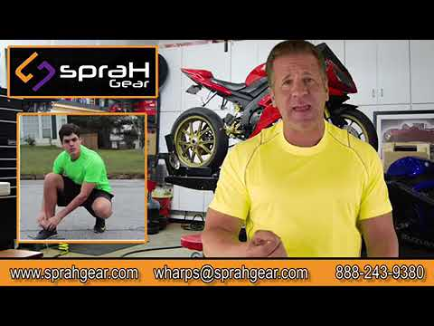 High visibility motorcycle riding gear by Sprah Gear