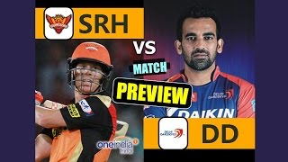 DD will be aiming to display more impact in their batting department as they face a formidable challenge from defending champions SRH in an IPL encounter.