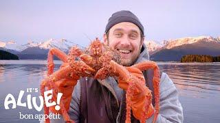 Brad Cooks Crabs in Alaska (Part 2) | It's Alive | Bon Appétit