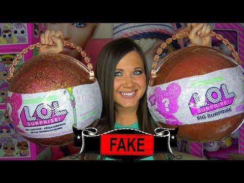 Fake LOL Big Surprise opening Series 3 wave 2 pearl surprise | FAKE LOL Kristen Ingold (видео)