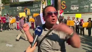 وقفة تضامن مع اللاجئين في عرسال أعلنتها تنسيقية اسطنبول
