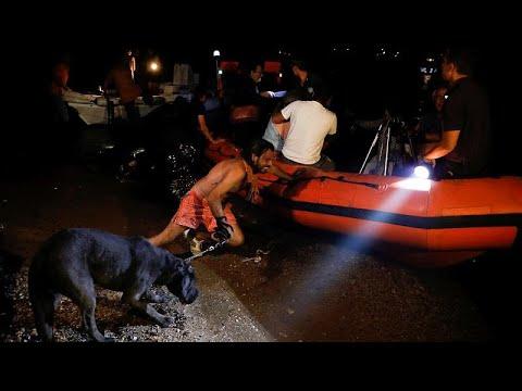 Νυχτερινή επιχείρηση διάσωσης δια θαλάσσης