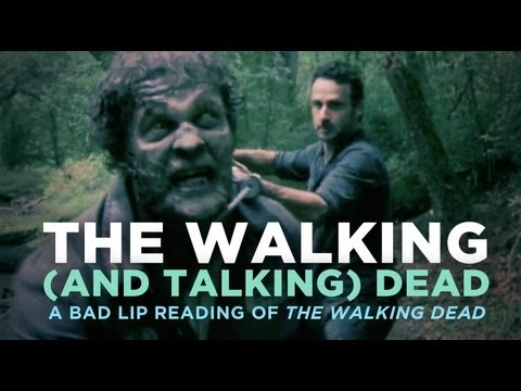 WATCH: Bad Lip Reading Of The Walking Dead