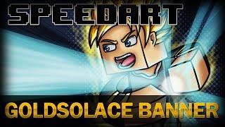 Minecraft SpeedArt - GoldSolace Banner