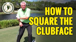 Video HOW TO SQUARE THE CLUBFACE AT IMPACT EVERYTIME! MP3, 3GP, MP4, WEBM, AVI, FLV September 2018