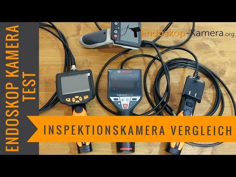 Endoskop Kamera Test