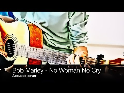 Video Bob Marley - No Woman No Cry (acoustic cover, fingerstyle, tab) download in MP3, 3GP, MP4, WEBM, AVI, FLV January 2017