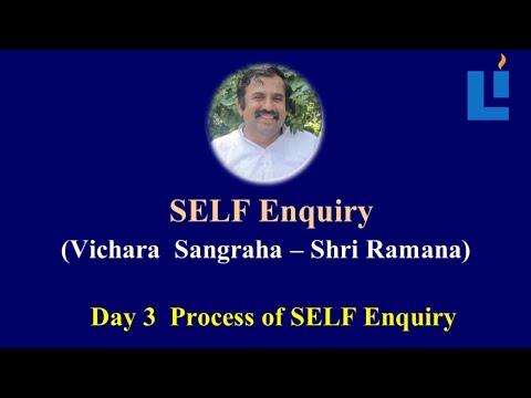 Process of Self Enquiry D3 #RamanaMaharishi#selfenquiry #vicharamarg #advaita