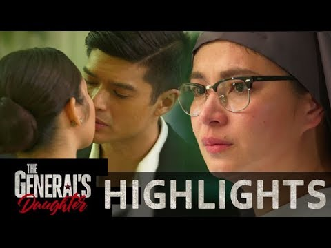 Rhian turns emotional upon witnessing Jessie and Ethan's wedding | The General's Daughter