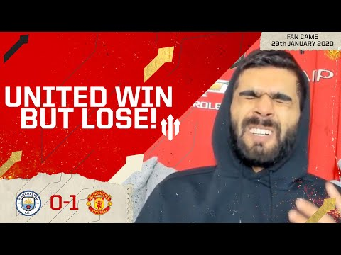 PRIDE IN DEFEAT! Man City 0-1 Man United   LIVE REACTION