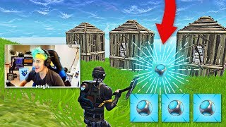 Ninja Reacts to New Port-a-Fort in Fortnite! | Fortnite Best Moments #28