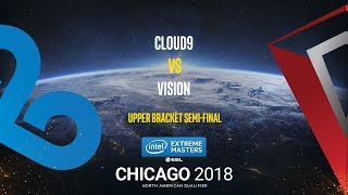 Cloud9 vs Vision - IEM Chicago 2018 NA Quals - map1 - de_mirage [Anishared]